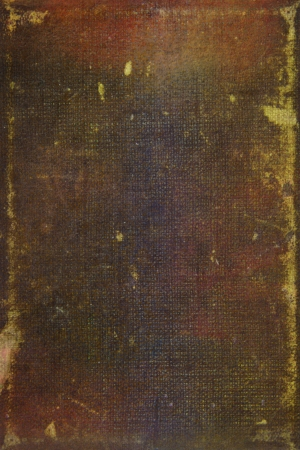 Old leather: abstract textured background with brown and yellow patterns. For art texture, grunge design, and vintage paper  border frame photo