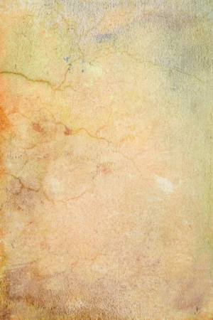 Grain yellow  brown paint wall background or vintage texture. For art texture, grunge design, and old border frame