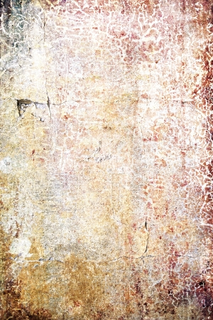 Grain paint yellow / magenta wall background or vintage texture. For art texture, grunge design, and old border frame Stock Photo - 17023754