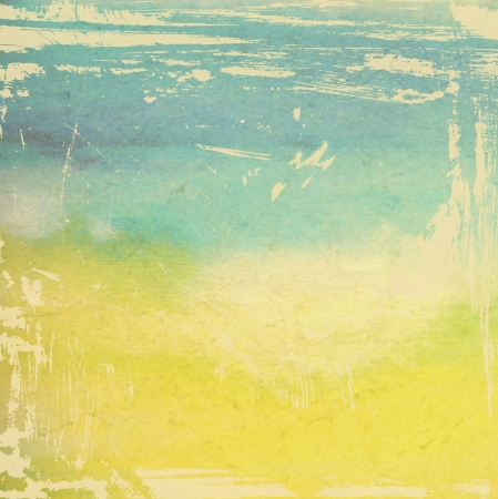 Designed grunge texture / paint background. For vintage wallpaper, old paper, and art border frame Stock Photo - 17049407