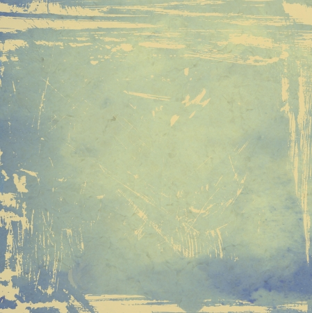 Designed grunge texture / paint background. For vintage wallpaper, old paper, and art border frame Stock Photo - 17049398