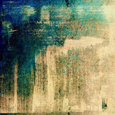 Designed grunge texture / paint background. For vintage wallpaper, old paper, and art border frame Stock Photo - 17049405