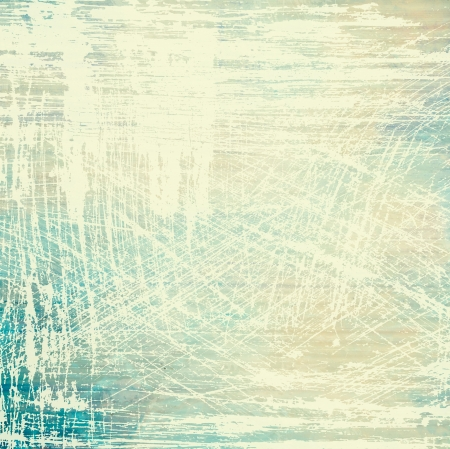 Designed grunge texture / paint background. For vintage wallpaper, old paper, and art border frame Stock Photo - 17049402