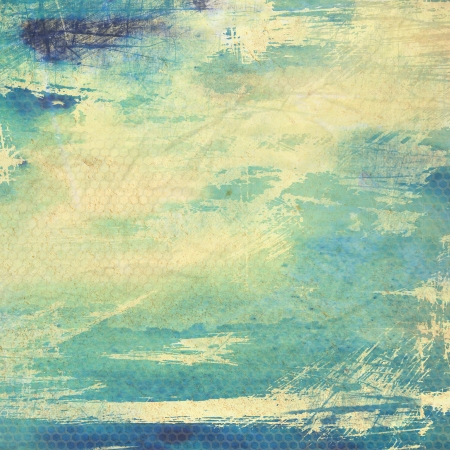 Designed grunge texture / paint background. For vintage wallpaper, old paper, and art border frame Stock Photo - 17074504