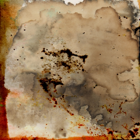 Designed grunge texture / old painted paper background. For vintage wallpaper, old paper, and art border frame Stock Photo - 17164250