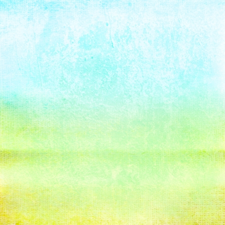 Abstract blue and green background or paper with grunge texture  For vintage layout design of colorful graphic art photo