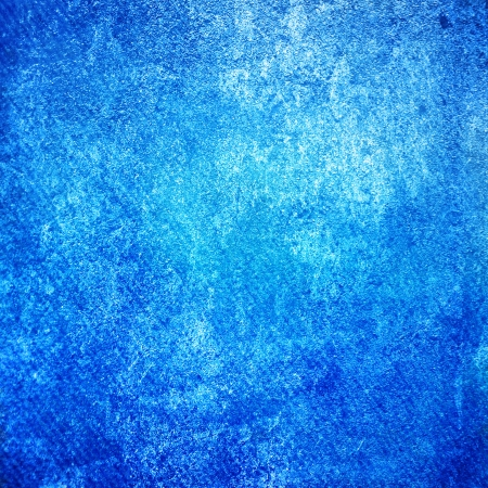 Abstract blue background or paper with grunge texture  For vintage layout design of colorful graphic art photo