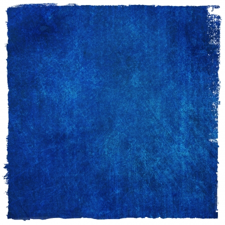 Abstract blue background or paper with grunge texture  For vintage layout design of colorful graphic art