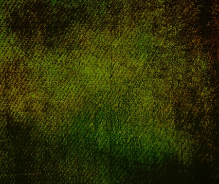 Abstract dark green background or paper with grunge texture. For vintage layout design of colorful graphic art or border frame