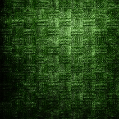 Abstract green background with grunge fabric texture  For vintage layout design of colorful graphic art or border frame photo