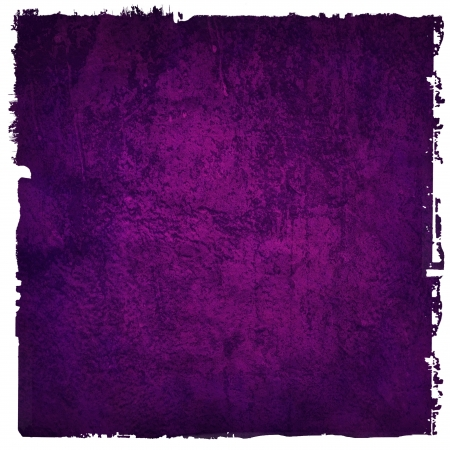 bright center: Abstract purple background or paper with bright center spotlight and dark border frame with grunge background texture  For vintage layout design of light colorful graphic art