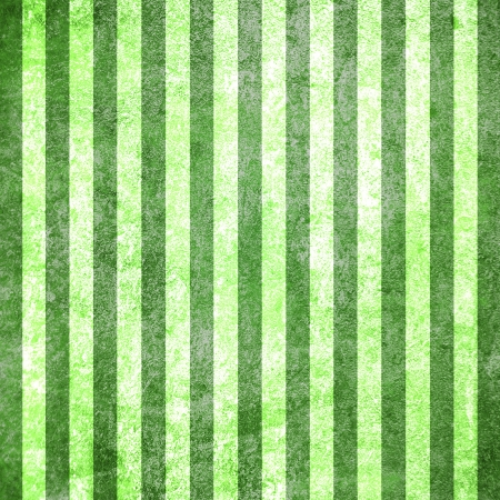 Abstract green background or paper with grunge texture and white stripes  For vintage layout design of colorful graphic art or border frame photo