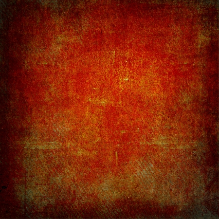 Highly detailed red and brown grunge background or paper with vintage texture and space for your text, image or border frame Stock Photo - 17389719