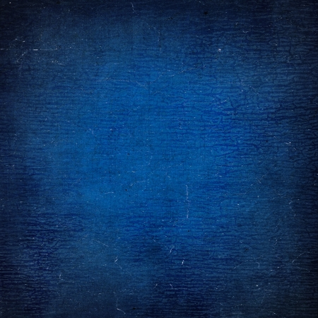 Highly detailed blue grunge background or paper with vintage texture and space for your text, image or border frame Stock Photo - 17389697