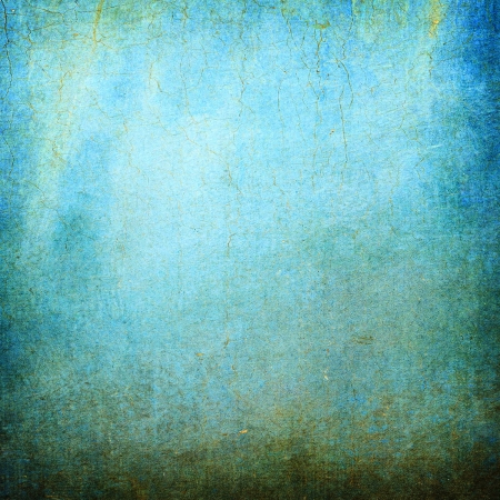Highly detailed blue grunge background or paper with vintage texture and space for your text, image or border frame Stock Photo - 17389707