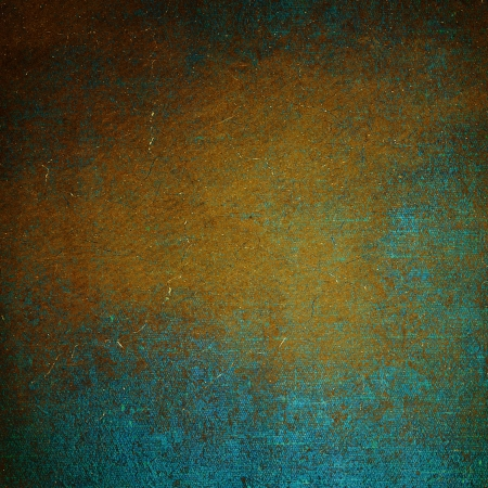 Highly detailed blue and brown grunge background or paper with vintage texture and space for your text, image or border frame