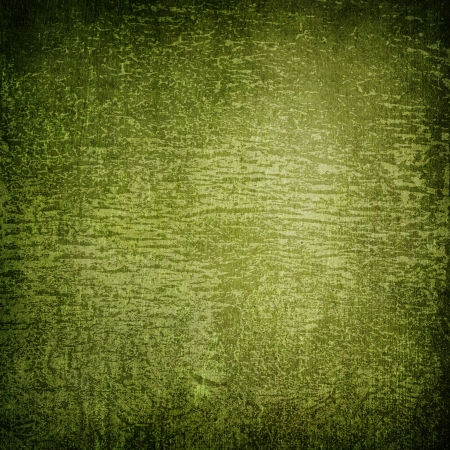 Highly detailed green grunge background or paper with vintage texture and space for your text, image or border frame Stock Photo - 17389711