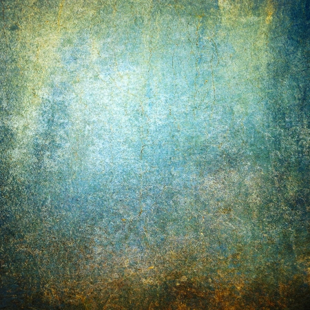 Highly detailed blue and brown grunge background or paper with vintage texture and space for your text, image or border frame Stock Photo - 17389724
