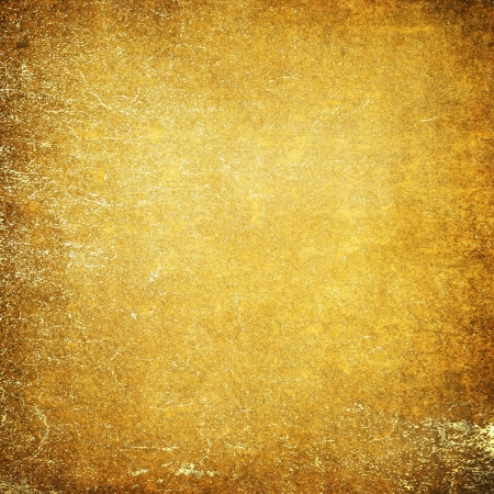 Highly detailed yellow grunge background or paper with vintage texture and space for your text, image or border frame Stock Photo - 17389726