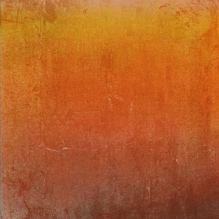 Highly detailed orange and yellow grunge background or paper with vintage texture and space for your text, image or border frame Stock Photo - 17438345