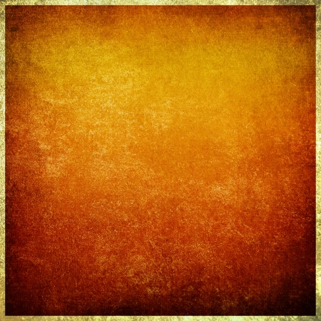 Highly detailed red and yellow grunge background or paper with vintage texture and space for your text, image or border frame Stock Photo - 17438347