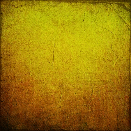 Highly detailed brown and yellow grunge background or paper with vintage texture and space for your text, image or border frame Stock Photo - 17438357