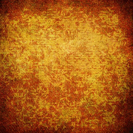 Highly detailed brown and orange grunge background or paper with vintage texture and space for your text, image or border frame Stock Photo - 17438353