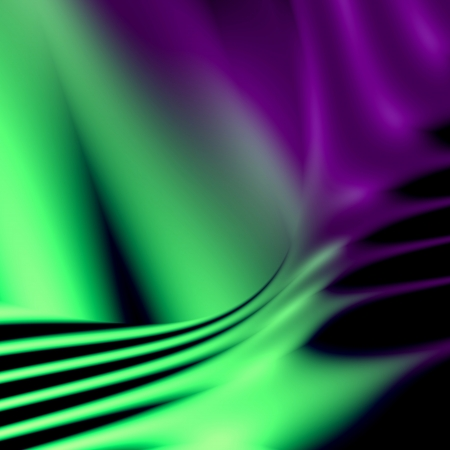 Green and purple abstract futuristic background  For creative layout design, scientific illustrations, and web template or site wallpaper Stock Illustration - 17633078