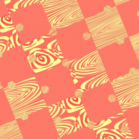 Seamless texture with abstract patterns. For vintage layout design, holiday background invitation or web template photo