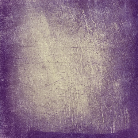 violet: Abstract vintage background with grunge texture. For art texture, grunge design, and vintage paper or border frame Stock Photo