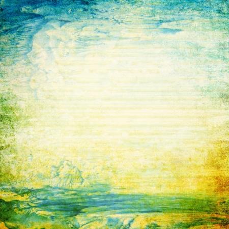 Grunge 텍스처와 추상 오래 된 배경. 예술 질감, 그런 지 디자인, 빈티지 종이 또는 테두리 프레임 스톡 콘텐츠 - 18278325