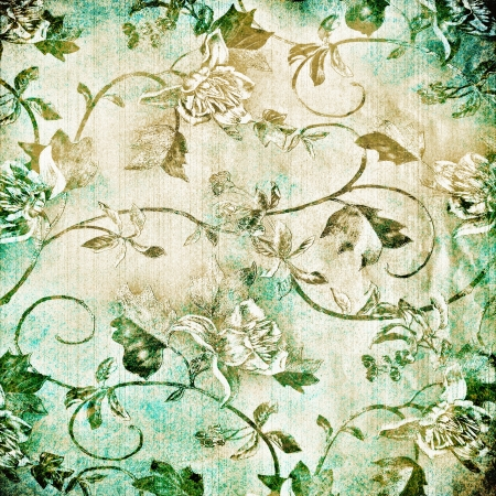 Abstract old background with grunge texture. For art texture, grunge design, and vintage paper or border frame Stock Photo - 18278373