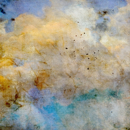 Abstract old background with grunge texture. For art texture, grunge design, and vintage paper or border frame Stock Photo - 18395906