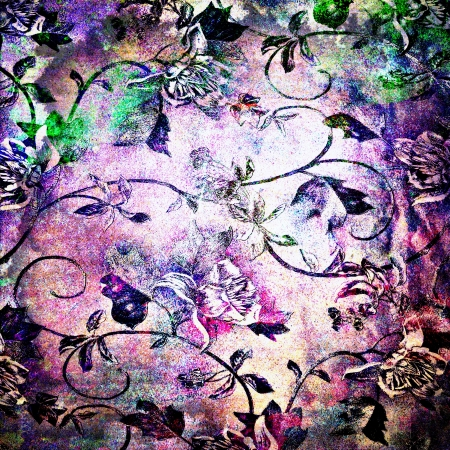 Abstract highly detailed textured grunge background. For creative layout design, vintage-style illustrations, and web site wallpaper or texture Stock Illustration - 18667443