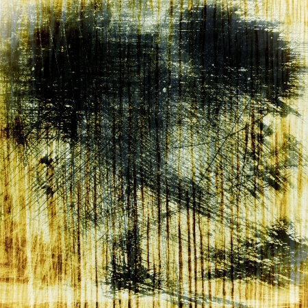 thriller: Abstract mystical background. For art texture, grunge design, and vintage paper  border frame Stock Photo