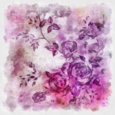 Designed grunge texture or old-style background. For art texture, grunge design, and vintage paper or border frame photo