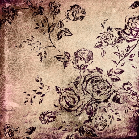 Grunge background with space for text or image. For creative layout design, vintage-style illustrations, and web site wallpaper or texture illustration