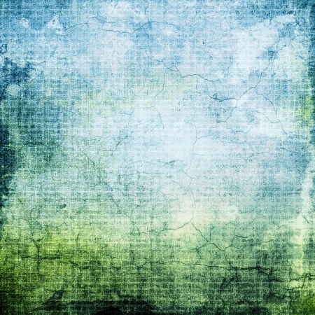 Grunge blue background with space for your text or image photo