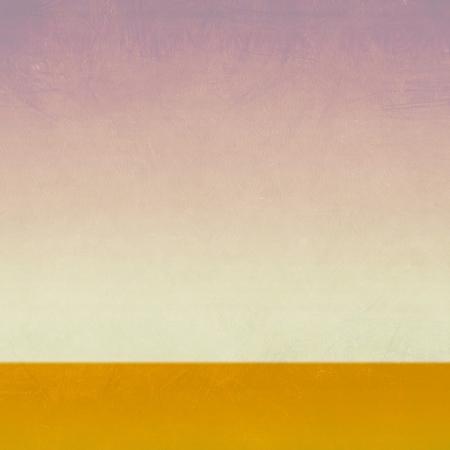 wasteland: Grunge field and blue sky, nature background Stock Photo