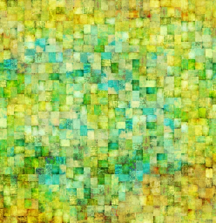 oldfield: Vintage mosaic background Stock Photo