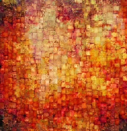 Vintage mosaic background photo