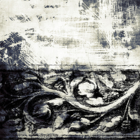 oldfield: Abstract old background with grunge texture Stock Photo