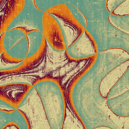 smudged: Retro background with grunge texture. With brown, orange, green, gray patterns