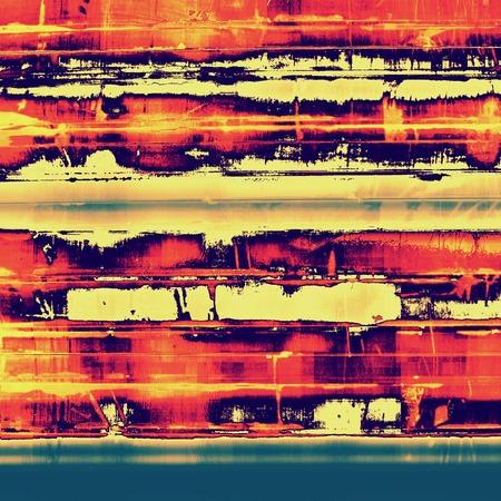 Grunge texture. With yellow, red, orange, blue patterns photo
