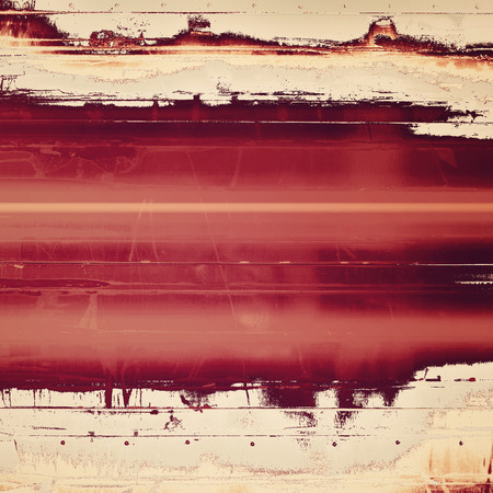 Grunge background with space for your text or image. With brown, red, orange, gray patterns photo