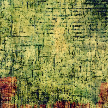 oldfield: Retro background with grunge texture. With different color patterns: yellow, brown, green