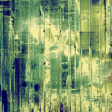 Grunge retro vintage texture, old background. With different color patterns: yellow, green, blue photo