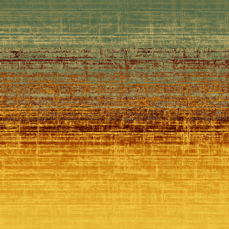 broad: Old-style background, aging texture. With different color patterns: yellow, brown, orange, gray, green