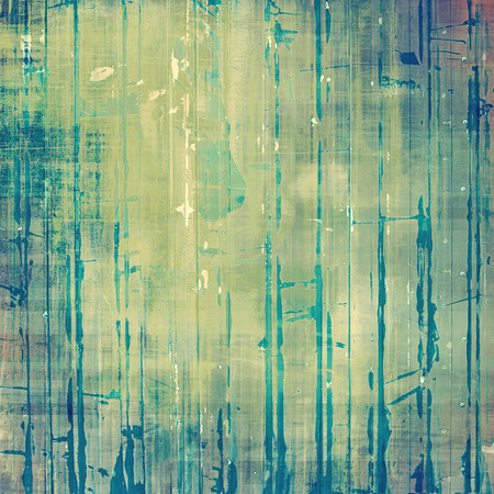 Old school textured background. With different color patterns: gray; blue; green; yellow