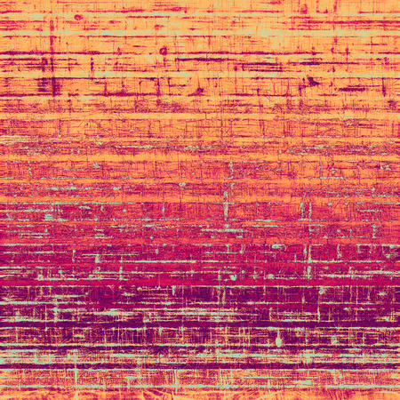 old fashioned sepia: Old and weathered grunge texture. With different color patterns: purple (violet); orange; red; yellow Stock Photo